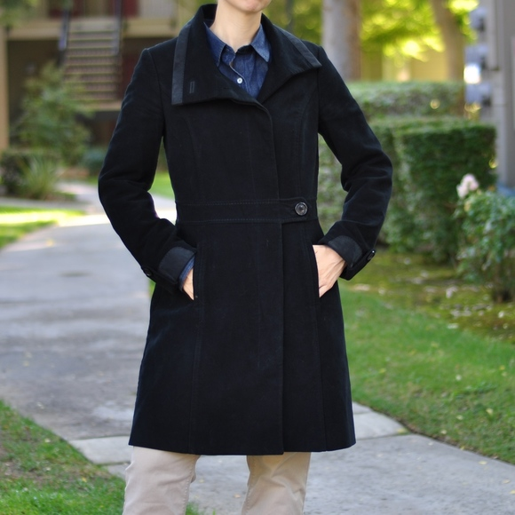 48dd7b7b0a Geox Jackets & Coats | Respira Black Winter Coat | Poshmark
